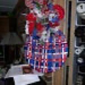 Double Patriotic Wreath